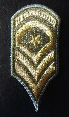 Military Badge Sew On Embroidered Pack Of 4