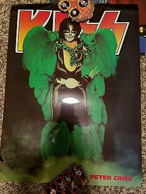 KISS Poster Lot from post Reunion Magazines Nice Condition 10 Total Double Sided