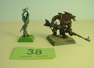 Confrontation Wolfen - Kaeliss & Lykai from Howling Clan -painted -NO CARDS - 38