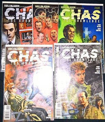 Chas: The Knowledge 1-5 VERTIGO (singles)