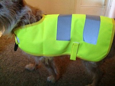 High Visibility  Reflective Dog Coat Jacket Vest S/ M/l/xl