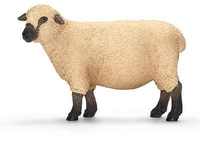 Schleich --Shropshire Sheep --Hard Plastic Toy Figure