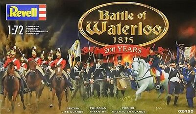 a REVELL 02450 - Battle of Waterloo, 1815  -- BOX 200 YEARS--   (Scala 1/72)