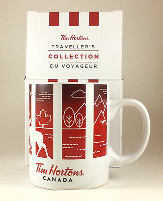 Tim Hortons Cup Mug 2016 TRAVELLER'S Collection (CANADA)
