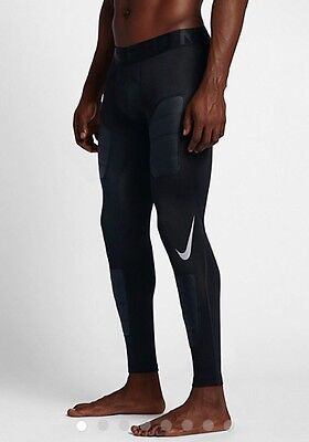 Nike Men's Pro Hyperwarm Aeroloft Tights Leggings Small Black Gym Running