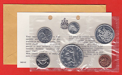 1966 Original Packaging Canada RCM Proof Like Mint Set PL WITH COA And Envelope