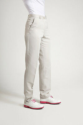 Glenmuir Classic Ladies Golf Trousers Stone