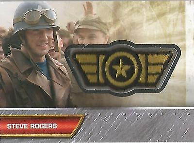 "Captain America Movie - I-5 ""Steve Rogers"" Insignia Patch Card"