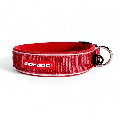EZYDOG - Neo Dog Collar Red Extra Large 53-61cm - Free Delivery