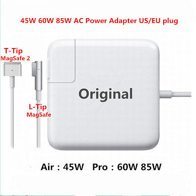 Original 45W 60W 85W L/T-Tip AC Power Adapter Charger For MacBook Pro Air