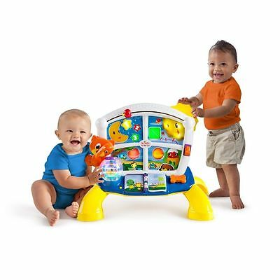 Bright Starts Lights Sound Baby Learn & Giggle Activity Station w Batteries NWOB