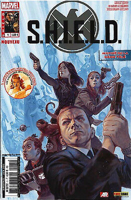 LOT COMICS SHIELD du N° 1 au 5 - Par Panini Comics Marvel