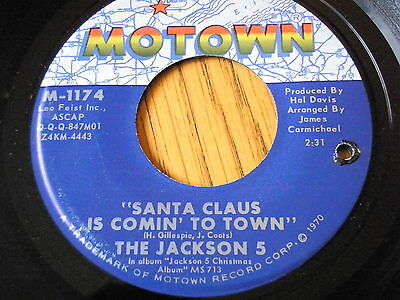 """The Jackson 5 - Santa Claus Is Coming To Town  7"""" Vinyl"""