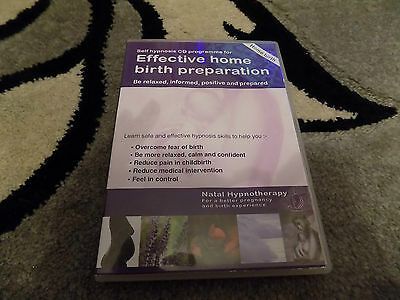 Self Hypnosis Audio CD Effective Home Birth Preparation - Home Birth