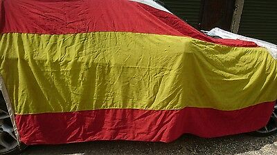 Vintage large Spanish Flag - 260cm x 130cm HUGE...