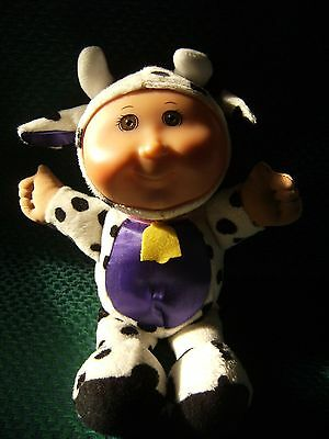 "Cabbage Patch Cow  Kids Doll 10""  Approx Vinyl Head Soft Body"