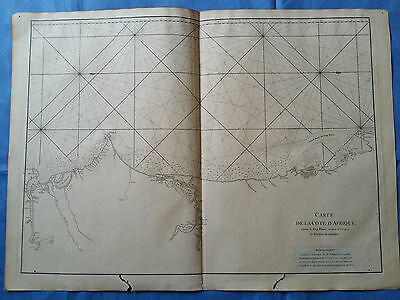 Coast of NW AFRICA, Senegal, Mauritania - Mannevillette, 1775
