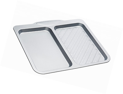 Kitchen Craft Non-Stick Twin Section Baking Tray