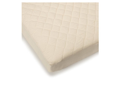 Bargoose Natural Cotton Top Fitted Crib Pad - I574