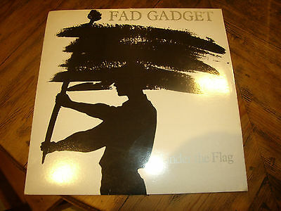 Fad Gadget ~ Under the Flag ~ Vinyl LP/Album ~ Mute Stumm 8 ~ 1982 LP 12""