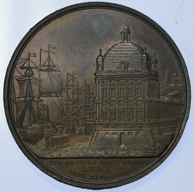 England - 1808 Napoleonic Battle of Vimiera bronze medal by Mills for Mudie