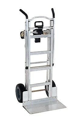 Cosco Products 12312ABL1E 3-in-1 Aluminum Hand Truck/Assisted Hand Truck/Cart...