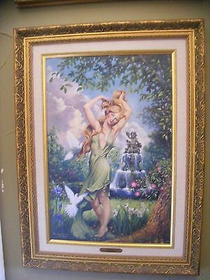 "Giuseppe Armani ""Aurora"" Wall Art Canvas Painting Framed Signed Numbered"
