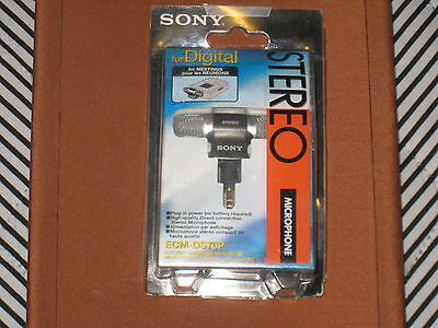 SONY electret condenser microphone ECM-DS70P Genuine Article From Made in Japan