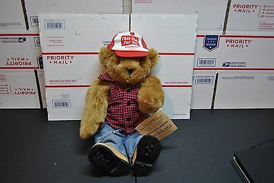 """Vermont Teddy Bear Co 16"""" This Studs for You Red-Hot-Redneck Collection"""