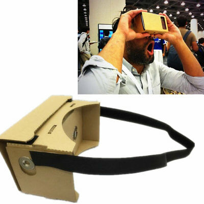 AU Google Cardboard 3D VR Box Virtual Reality Glasses Smartphone VR Headsets NFC