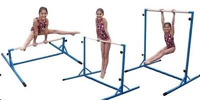 "4 in 1 Mini Training Bar - Gymnastics - Dance-- Exercise - Adjustable 58"" to 15"""