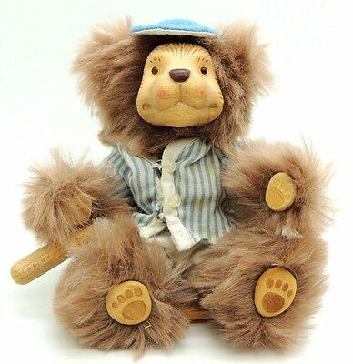 Wee Whittles Robert Raikes Original Toby  BEAR  as-is