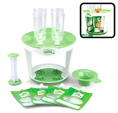 Baby Food Maker Storage Fill Station Reusable Pouches Kids Homemade Snacks New