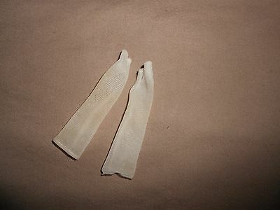 Vintage Barbie Clone Tressy Doll White Long Gloves