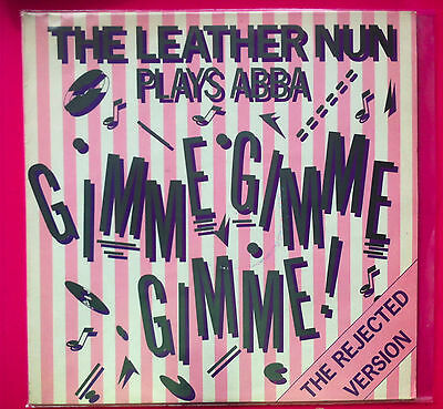 THE LEATHER NUN  PLAYS ABBA 12 inch vinyl EP Mint PROMO COPY