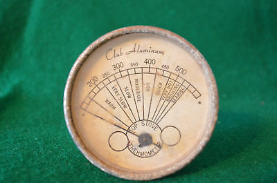 Vintage Stove Top Thermometer - Club Aluminum