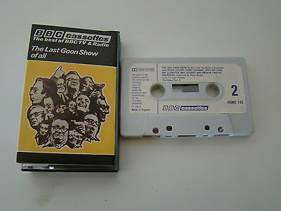 The Goons ‎– The Last Goon Show Of All cassette tape album