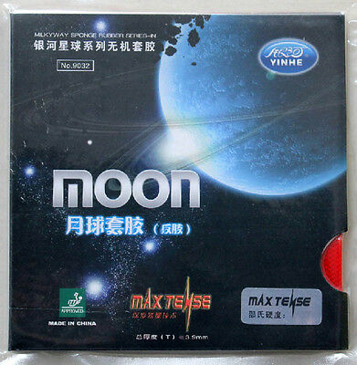 Galaxy Moon 9032 Pips-In Table Tennis Rubber/Sponge, MAX TENSE, China Tenergy 05