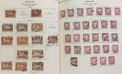 Poland 1946/51 Due Stamps 43 V. Used For Description Look At The Picture Spl
