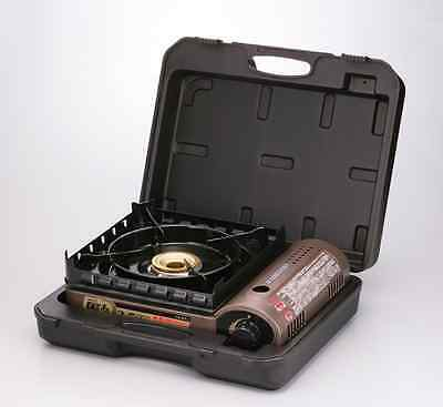 IWATANI CB-KZ-1-A Cassette Gas Grill BBQ OUTDOOR Camping Cooking Carrying Case