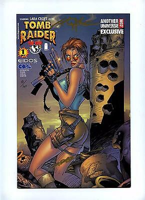 Tomb Raider #1 - Image 1999 - Another Universe Signed Variant Cover - VFN/NM