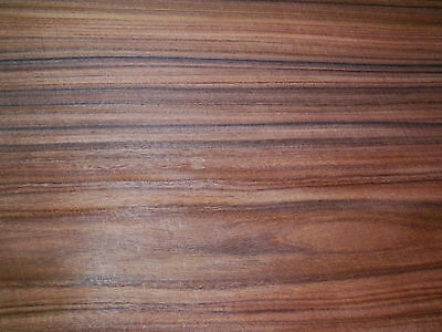 Santos Rosewood raw wood veneer 11.5 x 28 inches. 1/42nd thick           r6131-6