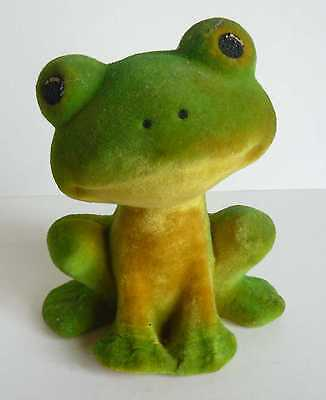 1970s USSR Estonian Vintage Soviet Polymer Toy Young Frog