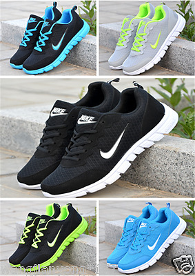 new WOMENS SHOES LADIES PUMPS TRAINERS LACE UP MESH SPORTS RUNNING CASUAL GYM
