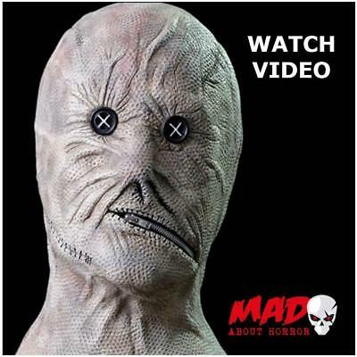 Deluxe Nightbreed Dr Decker Latex Collectors Mask - Halloween Horror Film SCARY