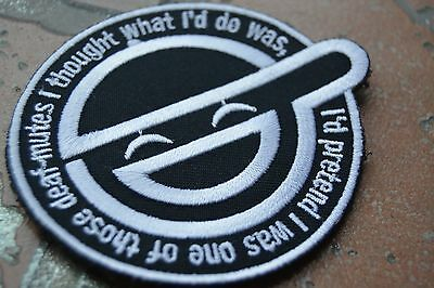 Ghost in the Shell Black Uniform Embroidered Patch Badge
