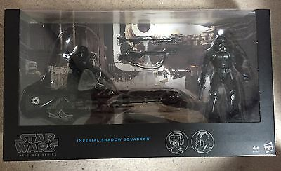 Star Wars Black Series, Shadow Squadron Figure Pack New
