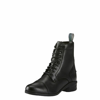 Ariat HERITAGE IV Lace Paddock Boots - Ladies - Black - Diff Sizes
