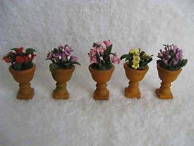 DEPT 56 - Seasons Bay - POTTED FLOWERS - #53331 - Lot of 5