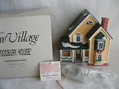 DEPT 56 - Snow Village - WOODBURY HOUSE - MINT - #54445